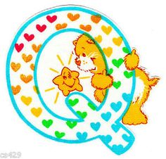 ❤️Care Bears and Friends ~ The Letter Q