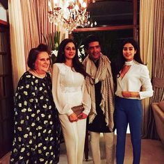 At Manish Malhotra's home for dinner Bollywood Fashion, Bollywood Actress, Manish Malhotra, Bridesmaid Dresses, Wedding Dresses, Most Favorite, Beauty Queens, Western Wear, Latest Trends