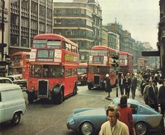 London History, Double Decker Bus, Old London, London England, Classic Cars, Mystery, Places, Vintage Classic Cars, Classic Trucks