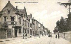 Legnano, Corso Vittorio Emanuele, oggi Corso Italia. #Legnano #Città #Street