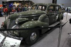 General George S. Patton Jr.'s 1939 Cadillac Model 75 Staff Car