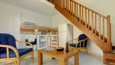 Holiday Apartment in Gouvia Corfu Holiday Apartments, Stairs, Kitchen, Home Decor, Mezzanine, Stairway, Cooking, Decoration Home, Room Decor