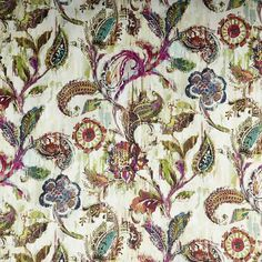 Warwick Fabrics : KANDINSKY, Colour CALYPSO