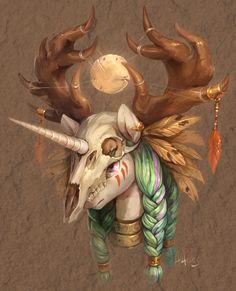 Deer by Audrarius