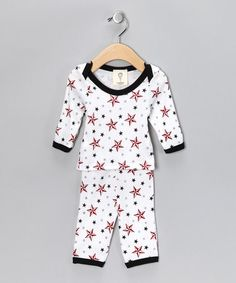 Take a look at this White Super Star Tee & Leggings - Infant  by It's a Boy Collection on #zulily today!