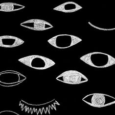 illustration, graphisme NB : oeil, graphique, Everywhere