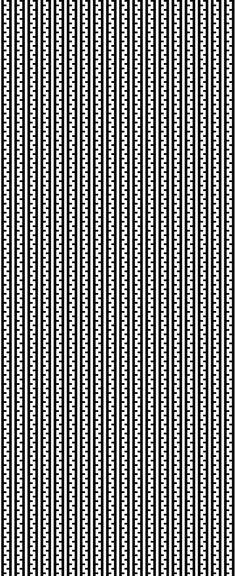 Patrón lineal en base a Alfarería Diaguita