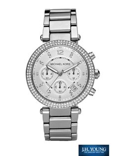 Michael Kors Parker Watch... i NEED this watch it will complete my life <3