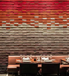 Restaurant and Private Dining Room at Les Bains Hotel by RDAI, Paris – France » Retail Design Blog