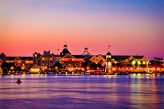 Disney's Boardwalk at Dusk