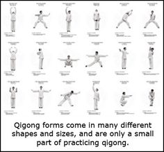 Shapes and Sizes of Qi Gong.