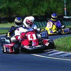 Go kart racing is AWESOME !