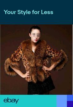 2d779204d7478 Women Faux Fur Clothing Leopard Print Thick Warm Vest Coat Parka Jackets  Plus SZ