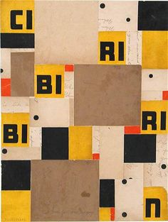 Fusion Series #1845 - 2002 - Cecil Touchon - collage on paper
