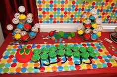 Surrounded by Diapers: The Very Hungry Caterpillar Birthday Party