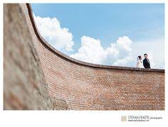 After wedding photo shoot, location Alba-Iulia Citadel, Romania.   Stefan Fekete Photography  www.stefanfekete.com