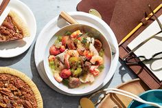 Gulf Coast Seafood Stew (00s) - 50 Years of Southern Recipes - Southernliving. Hurricane Katrina and a subsequent oil spill off the coast of Louisiana renewed appreciation for our region's seafood. This stew shows off its incomparable flavors, colors, and beauty.  Recipe: Gulf Coast Seafood Stew