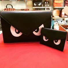 This angry little clutch just got an equally angry purse to match! @cambridgecheeseco now you can complete the set!  #leather #bag #clutch #purse