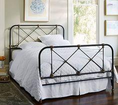 Atticus Iron Bed