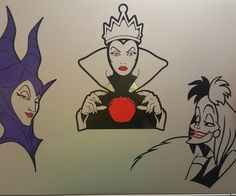 New Disney Villains Bedroom