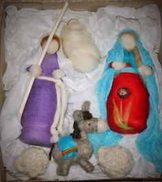 Emma - Almacén de cosas lindas: PESEBRES Lana, Nativity, Scene, Angel, Cute Stuff, Murals, Fabrics, Xmas, Births