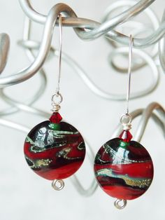 Classic Christmas Earrings  -SOLD-