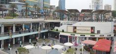 Shopping at Larcomar, Lima