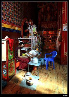 A Monk's life. Tibet