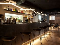 Barra de Bar de Diseño @ Restaurante Sexto