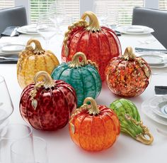 Clear Glass Pumpkins For Sale