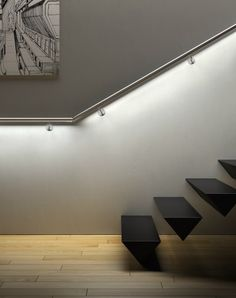 LED to enlighten a stairway or a walk
