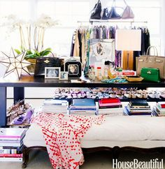 Fun colors - #interiordesign #home -  Stumped on How to Decorate? Let Your Closet Be Your Guide
