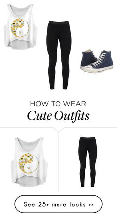 """Cute outfit #8"" by calistaagacek on Polyvore featuring Peace of Cloth and Converse"