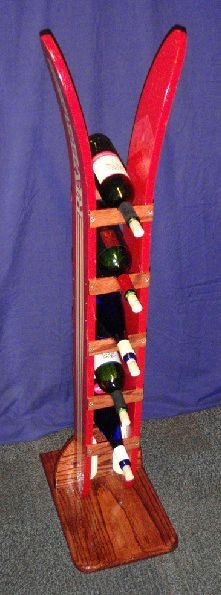 This would make a great wine rack at a ski lodge.