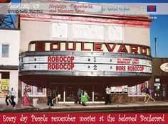 The BOULEVARD movie theater .... Greenmount and 33rd, Baltimore (Eastside)