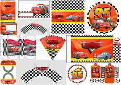 Topdoces carros hot wheels party cars birthday parties e hot. Disney Cars Party, Disney Cars Birthday, Car Themed Parties, Cars Birthday Parties, Party Printables, Free Printables, Deco Cars, Lightening Mcqueen, Hot Wheels Party