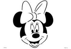 Free printable mickey mouse head stencil [break]more[/break] Free printable minnie mouse head stencil Disney Pumpkin Carving, Pumpkin Carving Templates, Pumpkin Template, Calabaza Disney, Disney Stencils, Mickey Minnie Mouse, Minnie Mouse Outline, Minnie Mouse Template, Disney Mickey