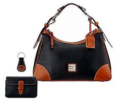 Dooney & Bourke Leather Harrison Hobo w/ Accessories - perhaps one day you'll be mine.