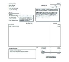 Free Download Invoice Template Typical Simple Sales Purchase Invoice  Blank Invoice Template Pdf .