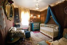 A Moroccan-Themed Explorer's Nursery My Room | Apartment Therapy                 This is so FUN