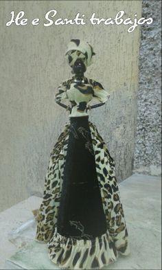 Dama Africana leopardata by Santino Cossu e Ilenia Pintus