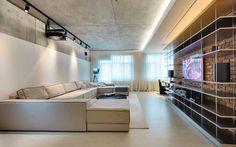 betonowy sufit