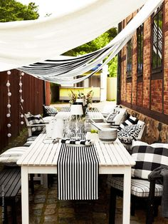 IKEA Outdoor Living Products Hit the Stores - Skimbaco Lifestyle Outdoor Rooms, Outdoor Dining, Outdoor Tables, Outdoor Gardens, Outdoor Decor, Dining Area, Patio Dining, Patio Table, Outdoor Sofa