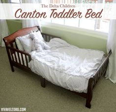 Review Of The Canton Toddler Bed From Delta Children