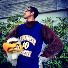 Northwest University Student Government is renaming our Eagle mascot!