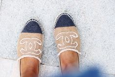 Chanel espadrilles. Source: They All Hate Us