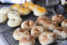 the baker upstairs: homemade bagels