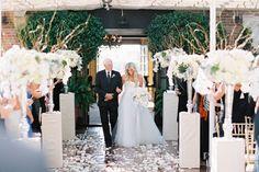 Rooftop Wedding | Gold Chiavari Chairs | Sugar Branch Events | Braedon Photography | Jonathan Club Wedding | Nisie's Enchanted Florist