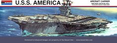 Plastic Model Kits, Plastic Models, Uss America, Monogram Models, Toys In The Attic, New Aircraft, Submarines, Old Models, Car Humor