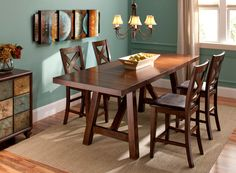 Marvelous This Royce 5 Piece Counter Height Dining Set Is Where Inspired Mealtimes  Take Shape!#myrfholiday #sweepsentry